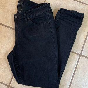 Torrid Distressed Black Jeans